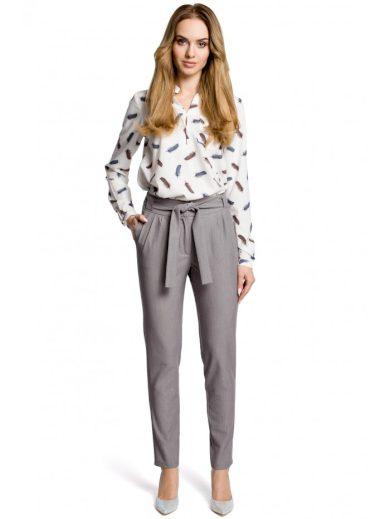 Chino kalhoty s páskem M363