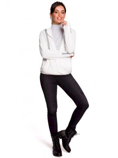 B127 Přední svetr s kapucí