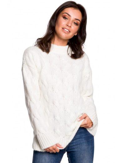 BK038 Skládaný pletený svetr