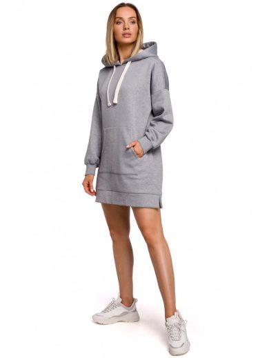 M534 Nadměrný svetr s kapucí s kapucí