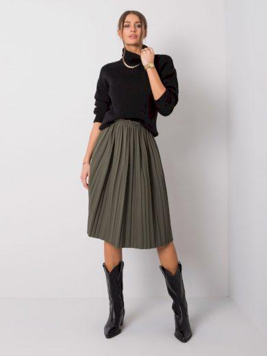 Dámská skládaná sukně cwd0452 - FPrice