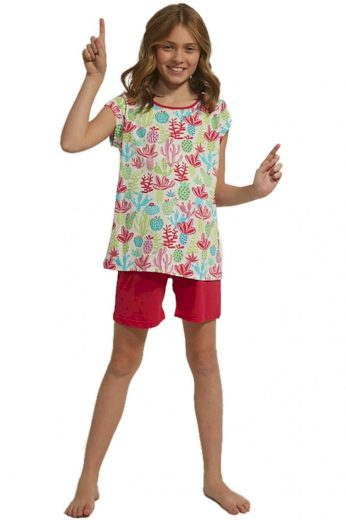 Dívčí pyžamo 358/79 Cactus - CORNETTE