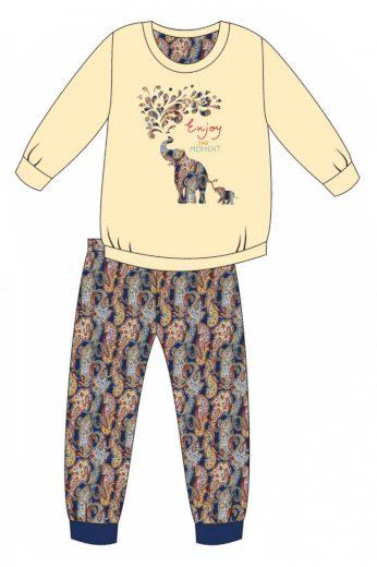 Dívčí pyžamo 594/133 Elephants - CORNETTE