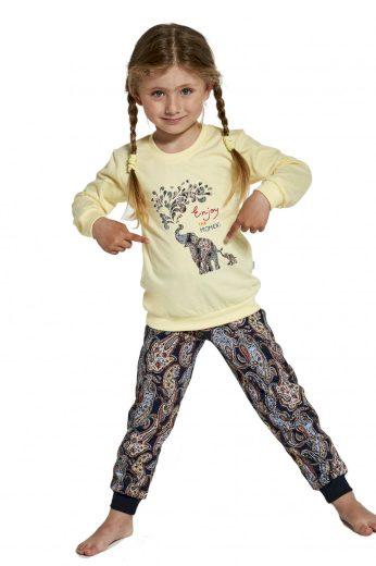 Dívčí pyžamo 592/133 Elephants - CORNETTE