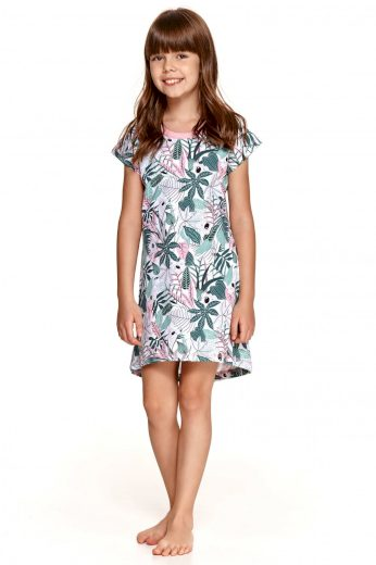 Dívčí pyžamo 2512 Kali green - TARO