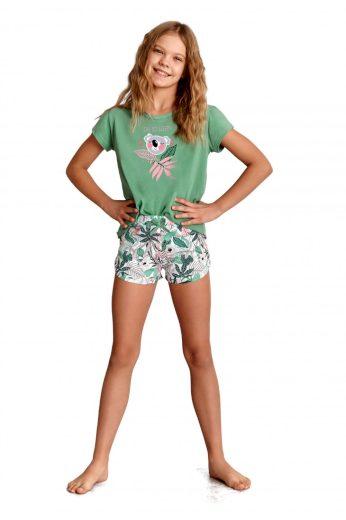Dívčí pyžamo 2384 green - TARO