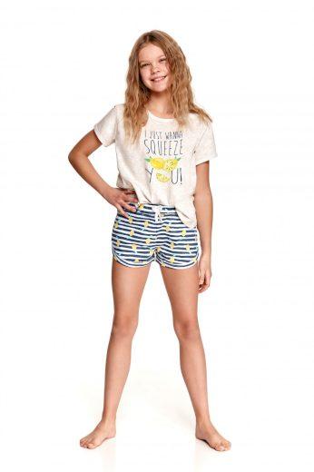 Dívčí pyžamo 2384 beige - TARO