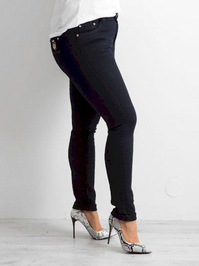 Dámské úzké džíny PLUS SIZE 7140 - FPrice