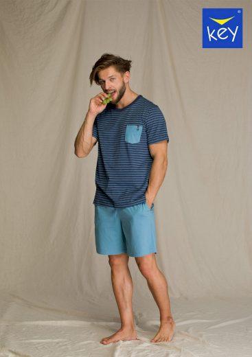 Pánské pyžamo MNS 349 A21 - Key