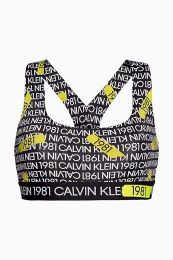Podprsenka QF5502E - 7ZP Women´s Unlined Bralette - Calvin Klein