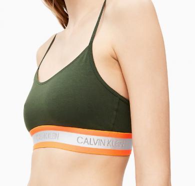 Podprsenka QF5459 - FDX Women´s Unlined Bralette - Calvin Klein