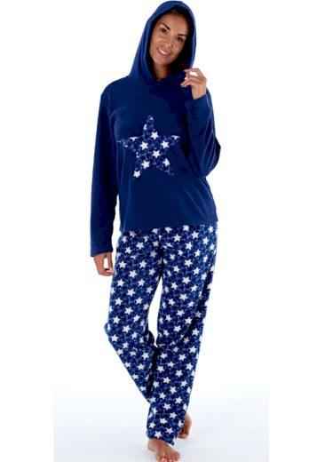Dámské pyžamo Fordville LN000660 XXL/3XL Tm. modrá