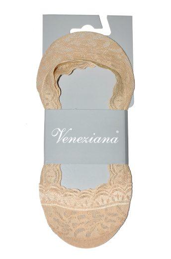 Dámské ponožky baleríny Veneziana Lexi Krajka