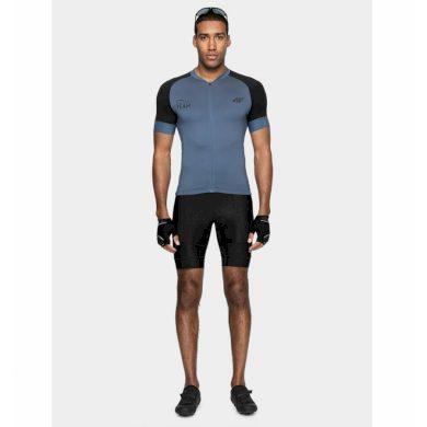 Pánské trička s krátkým rukávem MEN'S CYCLING T-SHIRT RKM002 SS21 - 4F