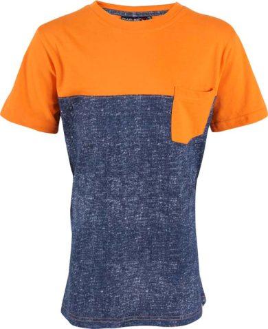 MARINE -jr. triko s kr.ruk. nám.modrá - 2117