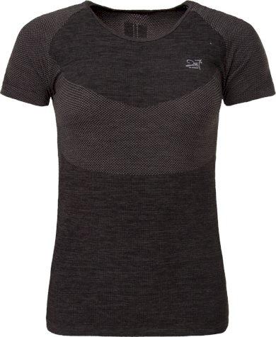 HELAS - dámské funkční, bezešvé triko s krátkým rukávem - šedé - 2117