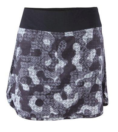 Orslösa - dámská sukně s kraťasy  - černé - 2117