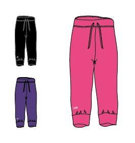 OXIDE - dívčí kalhoty 3/4 OT - 2117