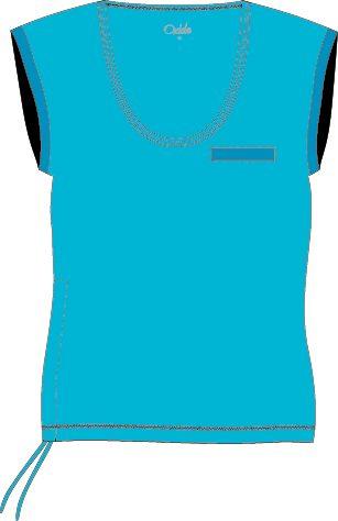 OXIDE - dámské triko aerobic OT - 2117