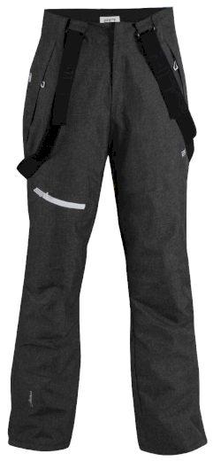 BORKAN - pánské lyžařské kalhoty - černé - 2117
