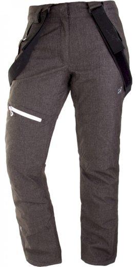BORKAN - dámské lyžařské kalhoty - černé - 2117