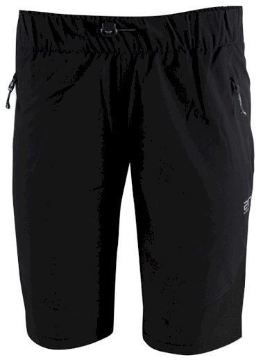 SIL -pánské outdoor. kalhoty krátké - Black - 2117