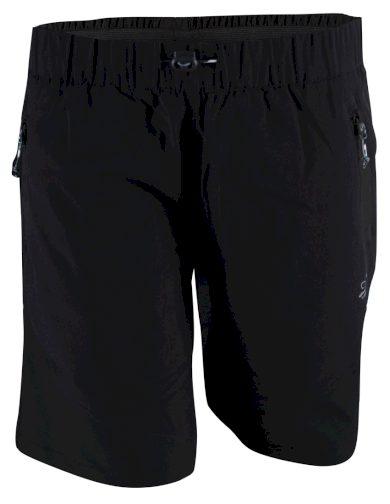 SIL -dámské outdoor. kalhoty krátké - black - 2117
