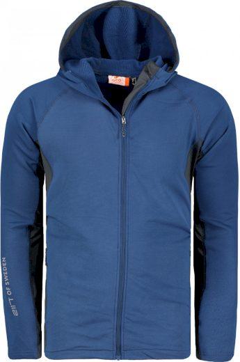 BJÖRKHULT - ECO pán.fleece bunda s kapucí - 2117