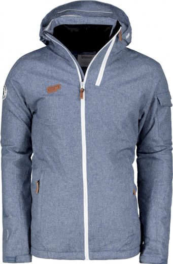 BRAAS - pánská lyž.lehká zateplená bunda (10000 mm) - modrá - 2117