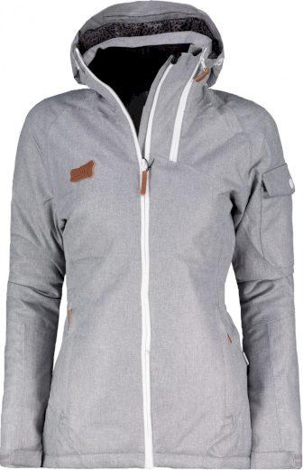BRAAS - dámská lyž.lehká zateplená bunda (10000 mm) - šedá - 2117