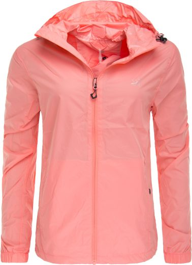 VEDUM - dámská bunda do deště - blush red - 2117