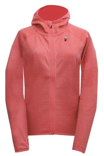 ALLTORP - dámská vlněná bunda s kapucí - blush - 2117