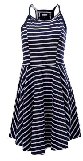 MARINE - dámské námoř. šaty na ramínka - 2117