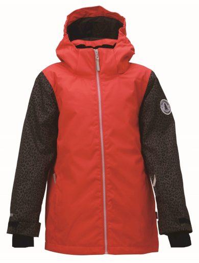 TÄLLBERG -dívčí zimní lyžařská bunda s odním. kapucí - 2117