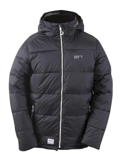 UDTJA - dětská zimní prošívaná bunda s kapucí - 2117
