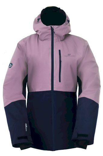 GÄRDET - ECO dámská lehká zateplená lyžařská bunda - dusty - 2117