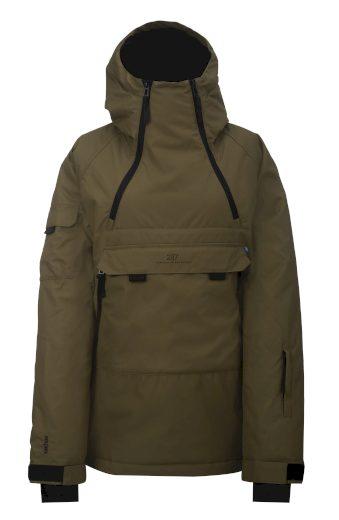 LIDEN - ECO dámská 2L lyžařská bunda - army - 2117