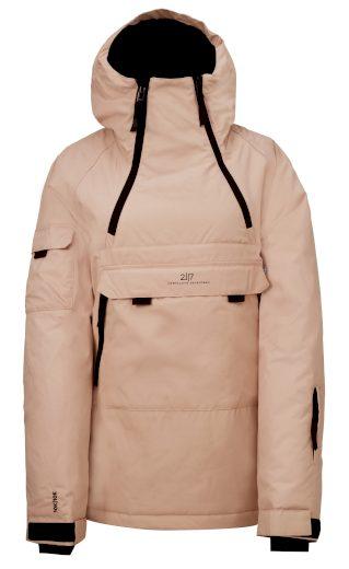 LIDEN - ECO dámská 2L lyžařská bunda - dusty - 2117
