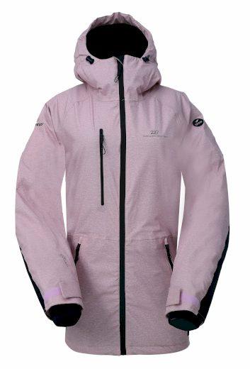 LANNA - ECO dámská 2L lyžařská bunda - dusty - 2117