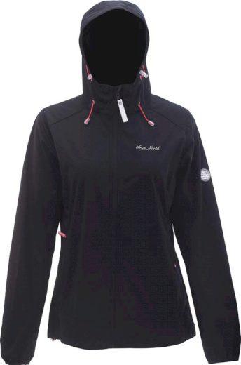 TN - dámská softshell.bunda s kapucí - 2117