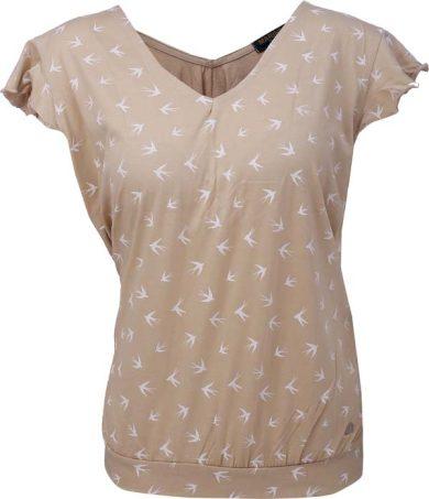 MARINE - dámské triko s kr.rukávem - Sand - 2117