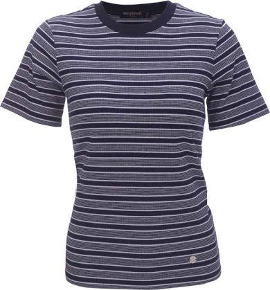MARINE - dámské triko s kr.rukávem - Navy - 2117