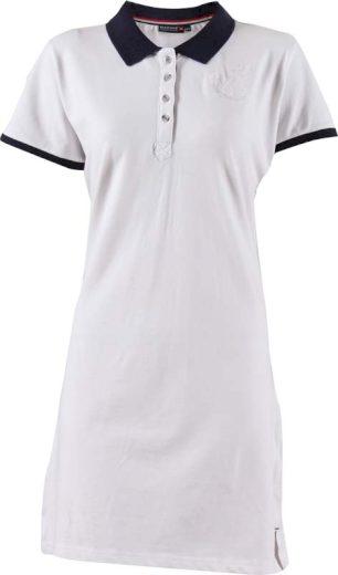 MARINE - dámské šaty s límečkem - 2117