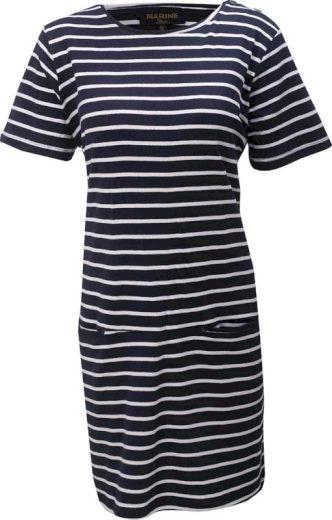 MARINE - dámské šaty - Navy - 2117