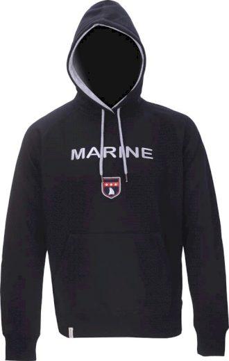 MARINE - pánská mikina s kapucí - 2117