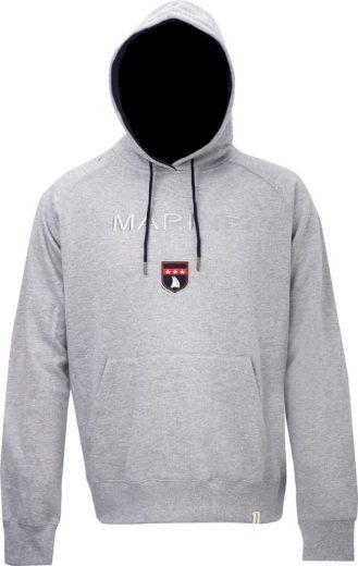 MARINE - pánská mikina s kapucí  - grey - 2117