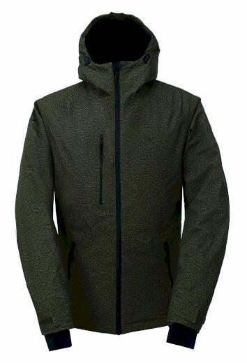 LANNA - ECO pánská 2L lyžařská bunda - army - 2117