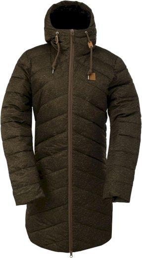 HINDÅS - dámský zateplený kabát - army - 2117