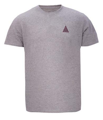 APELVIKEN - pánské  triko s krátkým rukávem - Grey - 2117