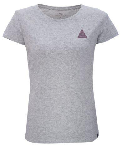 APELVIKEN - dámské  triko s krátkým rukávem - Grey - 2117